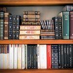 books in shelf